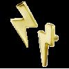 18K Gold Flash Attachment (For 1.2mm Internally Threaded Jewelry) Sfere e Componenti