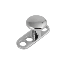 3 Hole Titanium Dermal Anchor with Disc