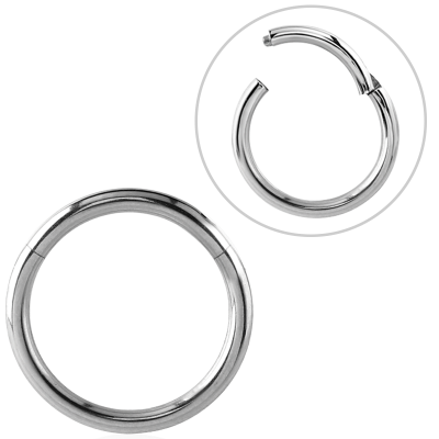 Steel Hinged Segment Ring Ear