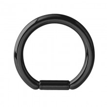 Black Steel Bar Closure Ring