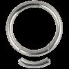 Titanium Smooth Segment Ring Orecchio