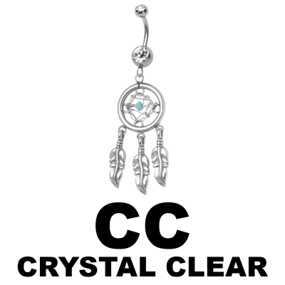Double Jewelled Dream Catcher Bananabell Navel
