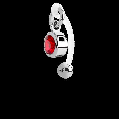 Bioflex Intimate Navel Bananabell with Steel Dangled Navel