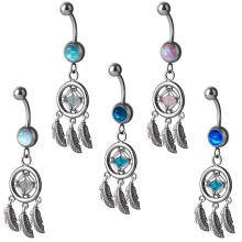 Jewelled Opal Bananabell with Dreamcatcher