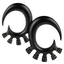 Buffalo Horn Ear Stretchers (Price for Pair)