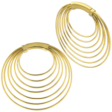 Brass Hand Made Earrings (Price for Pair)