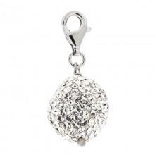 Crystal Baroque Pearl Charm