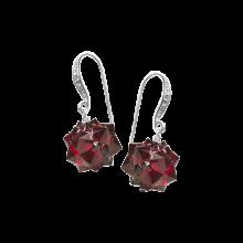 Crystal Hedgehog Earrings