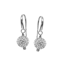 Crystal Ornament Petite Earrings