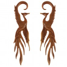 Wooden Claw Phoenix (price for pair)