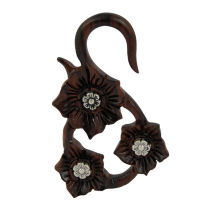 Flower Wood with Metal Element