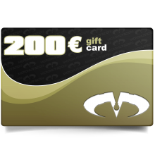 Gift Card Value 200 Euros