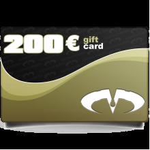 Gift Card Value 200 Euros