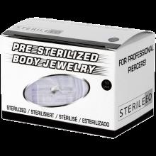 Sterilized Titanium Microdermal (Symetric Legs) with Jewelled Disk (box 10 pcs)