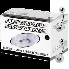Sterilized Titanium Navel Bananabell (box 10pcs)