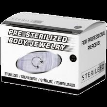 Sterilized Titanium Circular Barbell (box 10pcs)
