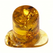 Chiapas Amber Rounded Labret