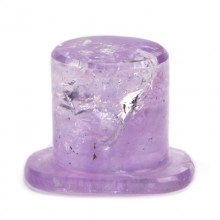 Amethyst Rounded Labret