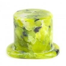 Lizardite (Norwegian Jade) Rounded Labret