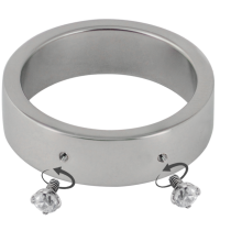 Surgical Steel Ring with 2 Microdermal Hole