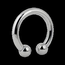 Surgical Steel Megacuff Shiny Bracelet