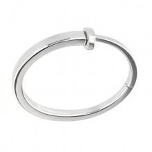 Surgical Steel Square Nail Bracelt