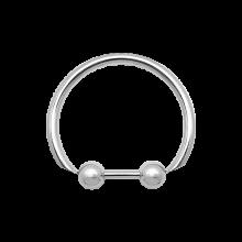 Surgical Steel Barred Ball Bracelet