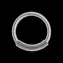 Surgical Steel Cobra Coil Bracelet