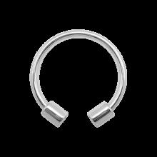 Surgical Steel Double Tube Bracelet