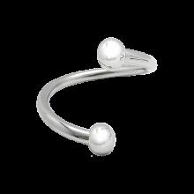 Surgical Steel Raindrop Bracelet
