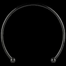 Black PVD Micro Mega Cuff Collar
