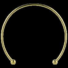 Gold PVD Micro Megacuff Collar