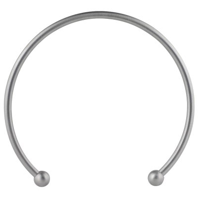Micro Mega Cuff Satiny Collar Necklace