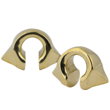 Yellow Brass Pyramid Weights (Price for Pair)