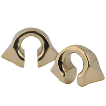 Rose Brass Pyramid Weights (Price for Pair)