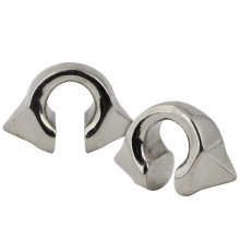 White Brass Pyramid Weights (Price for Pair)