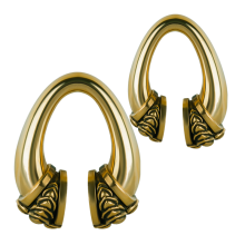 Tribal Brass Ear Weight (17.5gr.)