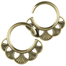 Tribal Brass Ring Weight