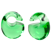 Small Solid Kettlebells Gorilla Glass® Ear Weights
