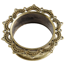 Brass Flesh Tunnel (Price for Pair)