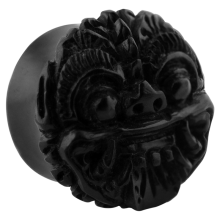Black Ebony Barong Plug (Price for Pair)