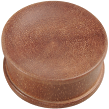 Double Flared Concave Sawo Wood Plug