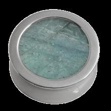Titanium Plug with Labradorite