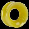 Green Quartz Concave Ear Tunnel Orecchio