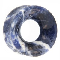 Sodalite Concave Ear Tunnel