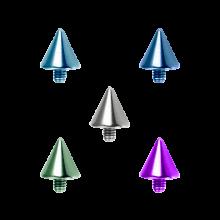Titanium Cone (for 1.6 Internally Threaded Jewelry)