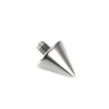 Titanium Cone (for 1.6 Internally Threaded Jewelry)
