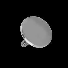 Titanium Flat Disc (for 1.6 Internally Threaded Jewelry)