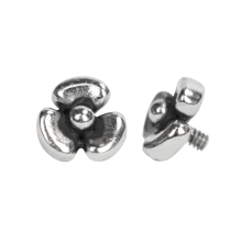 Surgical Steel Micro Flower (for 1.2 Internally Threaded Jewelry)
