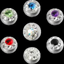 Crystal Line Jewelled Ball